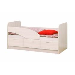 Кровать Дельфин ЛДСП 1600 дуб линдберг