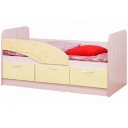 Кровать 06.222 Дельфин крем
