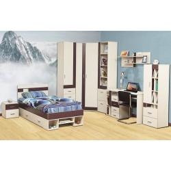 Кровать одинарная 06.296 Некст