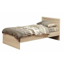 Кровать 21.55 Фриз с настилом дуб сонома