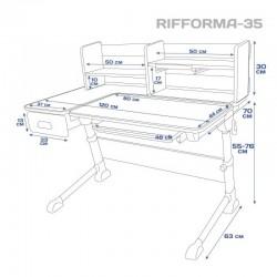 Парта RIFFORMA COMFORT-35