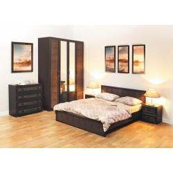 Кровать 06.260 Волжанка венге